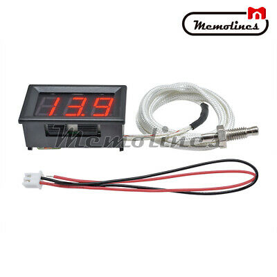 Xh-b310 Red Digital Diaplay Thermometer K-type M6 Thermocouple Tester 30-800c