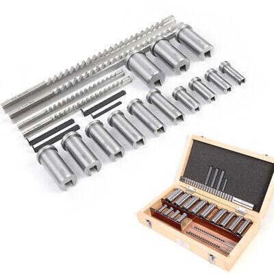 12-30 Hss Keyway Broach Bushing Shim Set Metric System Keyway Tool For Cnc
