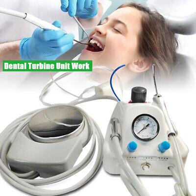 Portable Dental Turbine Unit Controller 3-way Syringe Handpiece 4-h Foot Switch