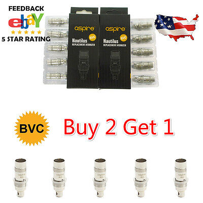 Aspire Nautilus Bvc Replacement Coil For Nautilus Mini Tank Us Ship Buy 2 Get 1