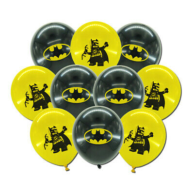 10pcs/lot for Boys Kids Batman Theme Birthday Party Balloon Set, 12 inch Latex](Themes For Birthdays)