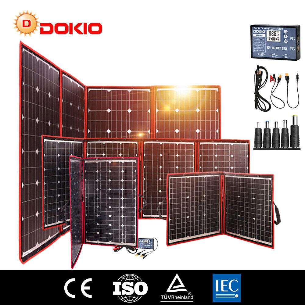 100w 200w 300w 12v tragbare Solarmodul Solarpanel für TelefonCampingWohnwagen