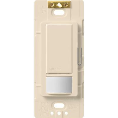 Occupancy Sensing Light Switches (Lutron Maestro 2 Amp Single Pole Occupancy Sensing Switch - Light Almond )