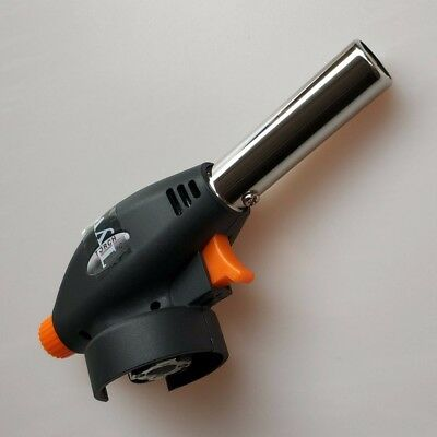 19mm Butane Gas Mini Blow Torch Lighter Kitchen Home Soldering Brazing BBQ Tool