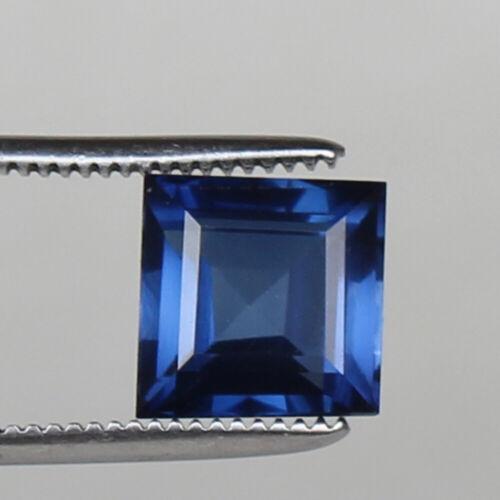 Natural Kashmir Royal Blue Sapphire 6.55 Carat Square Certified Loose Gemstone