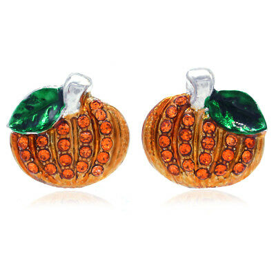 New Small Cute Happy Halloween Fall Thanksgiving Pumpkins Pierced - Cute Happy Halloween