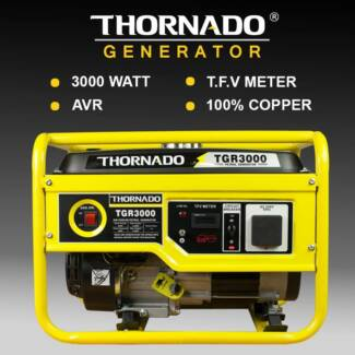 Thornado 3000W 7HP Petrol Power Generator Recoil Start Chipping Norton Liverpool Area Preview