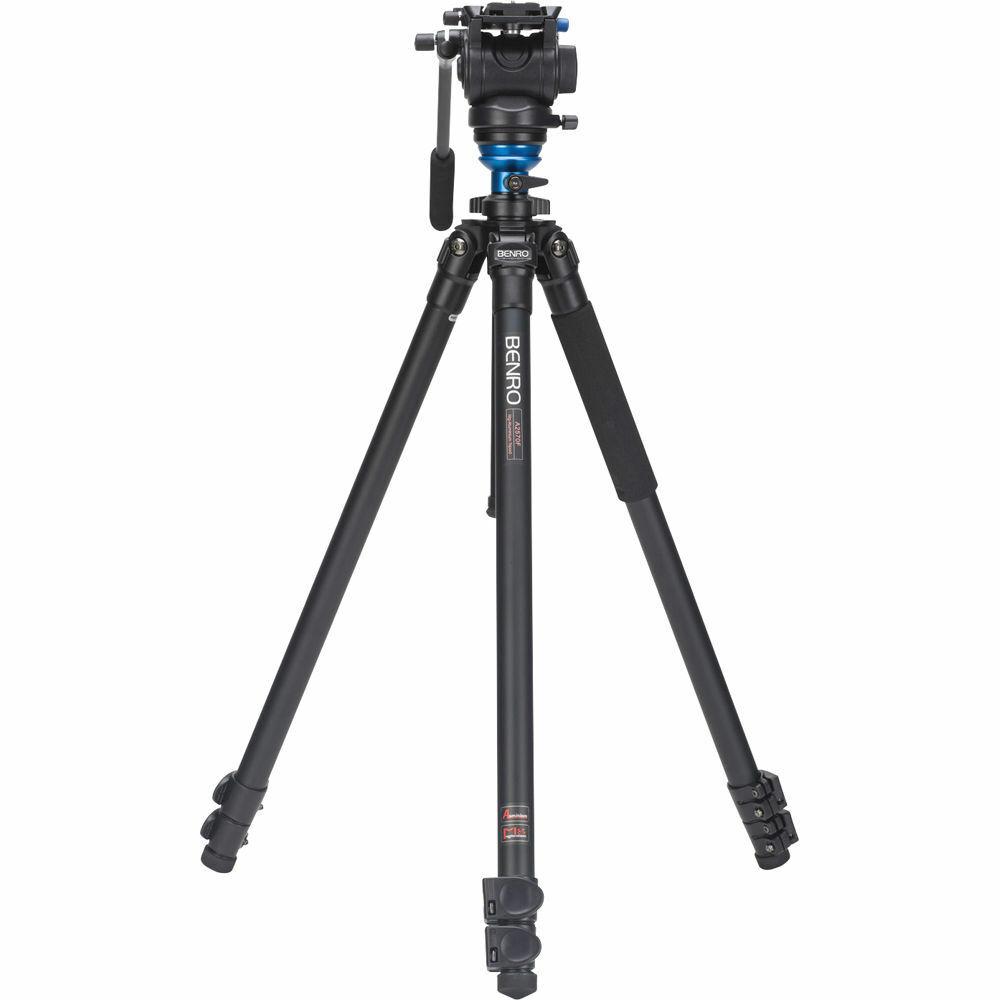 Benro A2573FS4 S4 Video Head and AL Flip Lock Legs Kit. No F