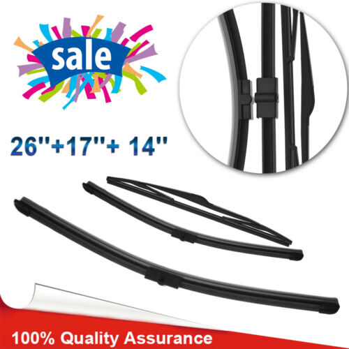 Details about Front & Rear Wiper Blades for Ford Focus Mk2 2006 2007 08 2009 56,07,57,08,58,09