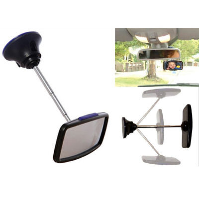 Deluxe Baby Car Mirror 360° Adjustable Child Safety Seat Re