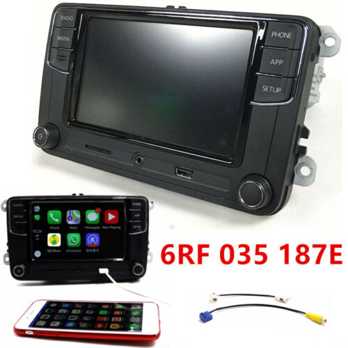 Autoradio RCD330+187E Carplay,Android Auto,BT,AUX,RVC VW GOLF TOURAN TIGUAN POLO