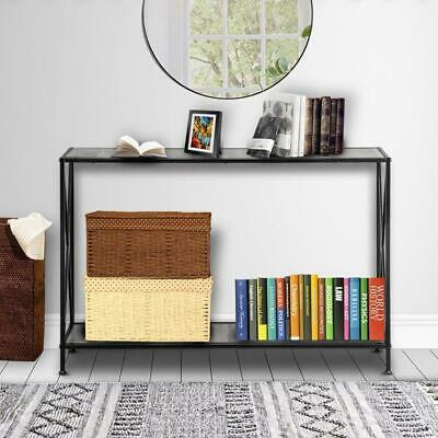 Home Console Table Wood Entryway Sofa Accent Hallway Living Room Furniture