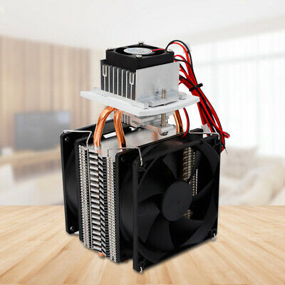 Peltier Cooler 12v Semiconductor Refrigeration Thermoelectric Air Cooling 72w