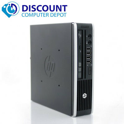 HP 8300 Slim Desktop Small Computer PC i5-2400s 4GB 320GB Windows 10 Home WiFi