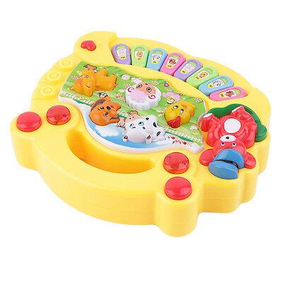 Baby Kids Toy Musical Educational Animal Farm Piano Developmental Music Gift US
