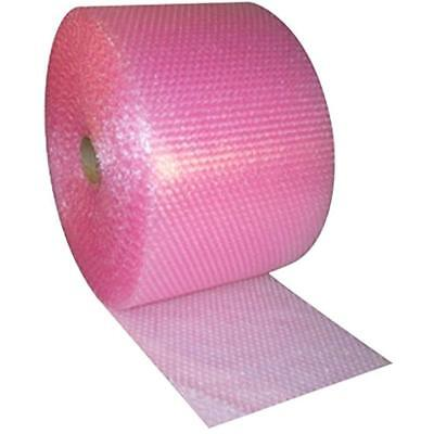 Small 316-inch Bubble Wrap Pink Anti-static Cushioning Roll 175-foot By Wide