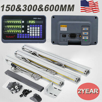 3axis Digital Readout 6 12 24 Ttl Linear Glass Scale 5m Dro Bridgeport Mill