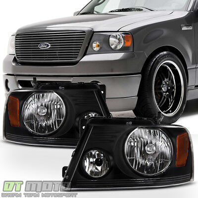 [Harley-Davidson Style] 2004-2008 Ford F150 06-08 Mark LT Headlights