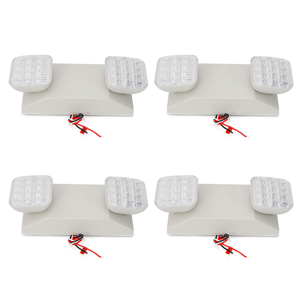4 Pack Powerful Emergency Lamp LED Light Emergency Exit Sign Indoor Light NEW
