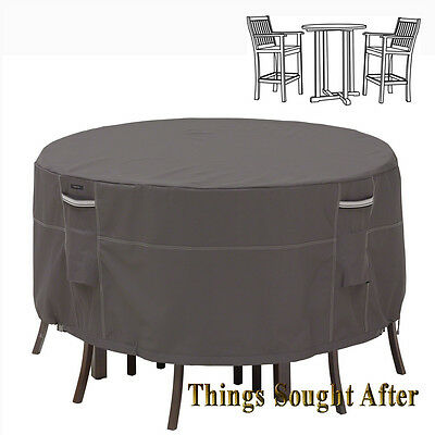 Classic Accessories Ravenna Patio Table & Chair Set Cover -