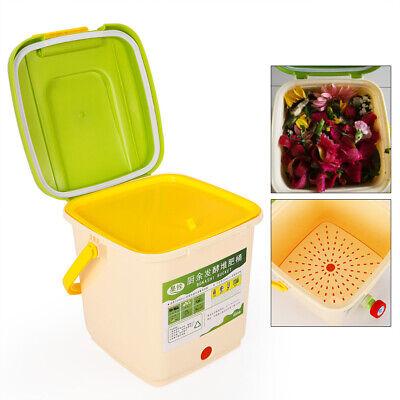Kitchen Craft Komposteimer, 9 L, PP Material , Kompostbehälter Küchenkomposter