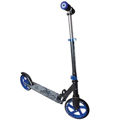 Muuwmi Aluminium Scooter 200 mm schwarz-blau Roller  klappbar ABEC 5