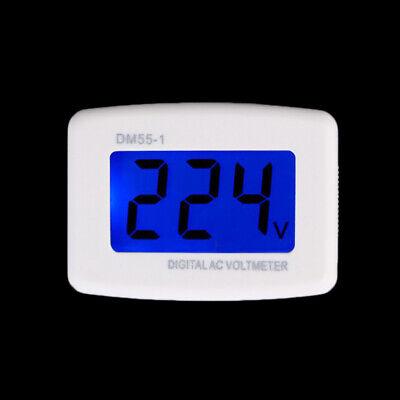 Electrical Dm55-1 Ac 80-300v Lcd Digital Voltmeter Us Plug-in Electric Pen Meter