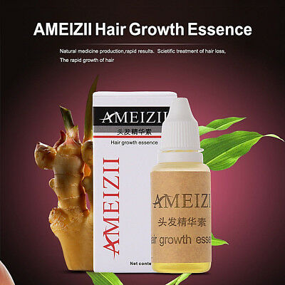 SALE! AMEIZII Hair Growth Essence Hair Loss Liquid 20ml dense hair fast sunburst