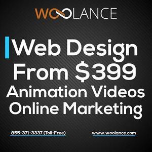 PROFESSIONAL WEB DESIGN. WEBSITE DEVELOPMENT. SEO. WEB HOSTING. WEBSITE MAINTENANCE - FROM $399