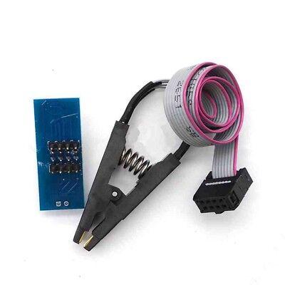 Soic 8 Sop 8 Flash Chip Ic Test Clips Socket Adpter Bios242593 Programmer Sj