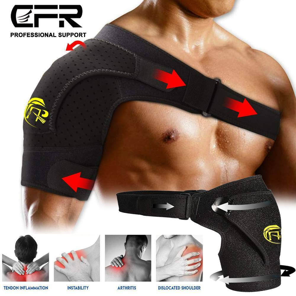 Adjustable Shoulder Support Brace Strap Joint Sport Gym Comp
