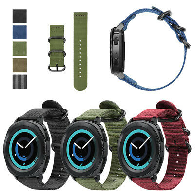 Classic Quick Release (Quick Release 20mm Soft Nylon Strap Band For Gear Sport/S2 Classic Smart)