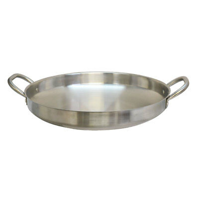 19'' Stainless Steel Camal  Fried Griddle Caso Pot Pan Wok Gas Stove burner Cook