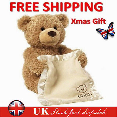 Peek A Boo Teddy Bear Toddler Kids Children Child Play Soft Toy Plush Blanket UK