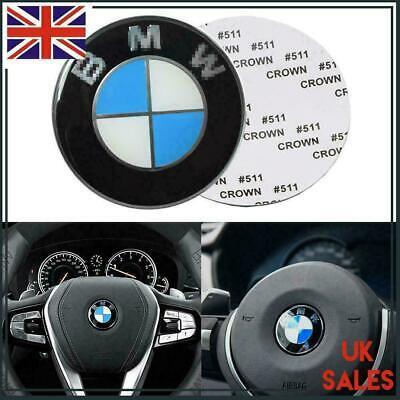 45mm Steering Wheel/AIRBAG Center Cap Cover Emblem Badge For BMW 1 3 5 6 7 Z3 Z4