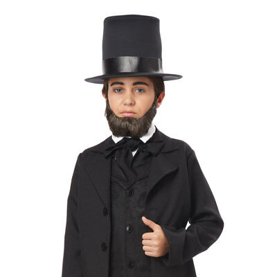 Boys Honest Abe Halloween - Abe Beard