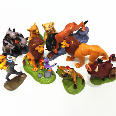 The Lion King Simba Nala Pumbaa Timon 9 PCS Action Figure Doll Cake Topper Toys Lion King Dolls