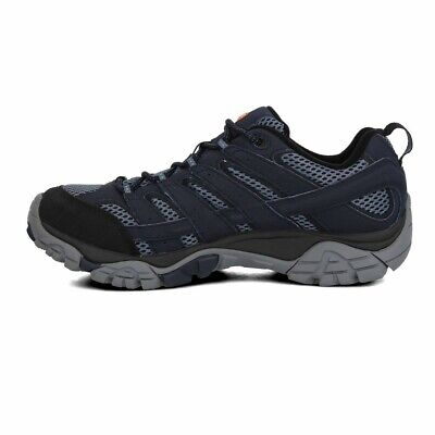 Merrell Mens Moab 2 GTX Walking Shoes Sneakers Trainers Navy