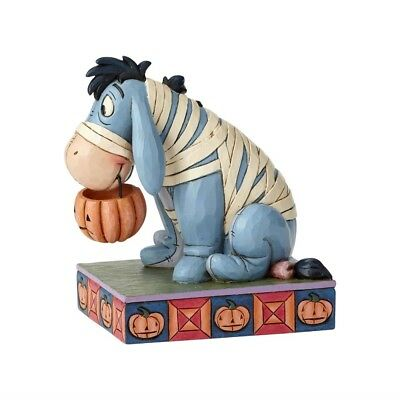 Disney Traditions by Jim Shore, Halloween Eeyore as Mummy Figurine, New, - Jim Shore Halloween Figurines