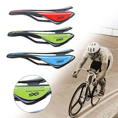 Carbon Fiber MTB Road Bike Saddle Soft Hollow Sport Cycling Bicycle Seats Pad (Cycling Bicycle Bike Saddle)