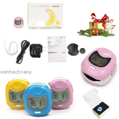 Promotion Pediatricchild Fingertip Pulse Oximeter Cms50qa Kids Spo2 Oxygenlcd