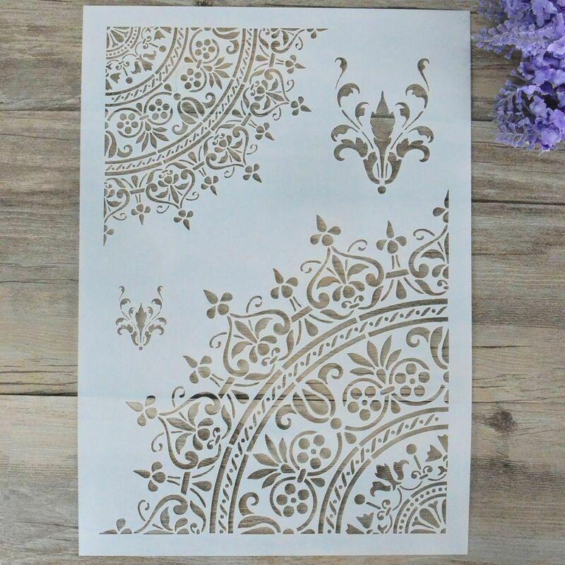 For Wall Painting Scrapbooking Stamping DIY Craft Mandala St