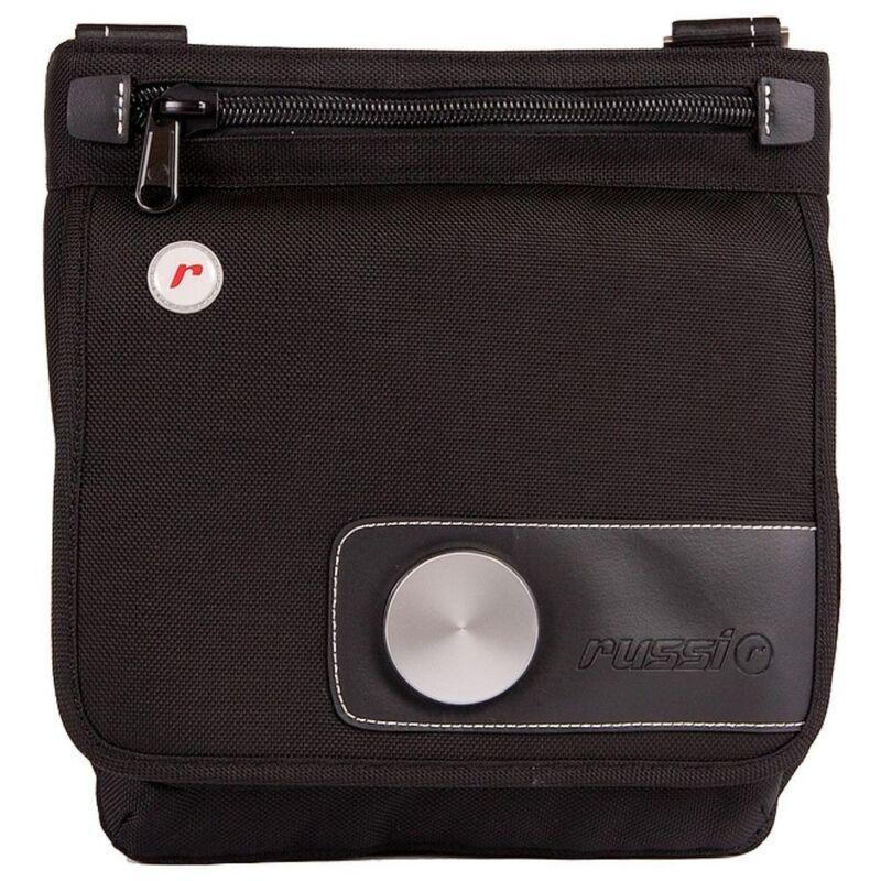 Brand New Russi X5 Solo Nylon Black Electronics Messenger Bag w/ Lock n Strap