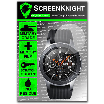 ScreenKnight Samsung Galaxy Watch 46mm SCREEN PROTECTOR - Military Shield