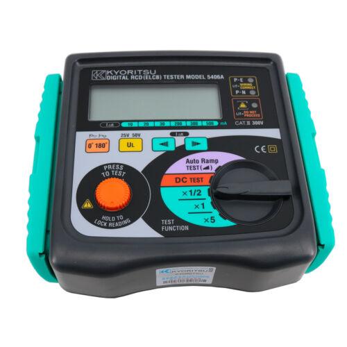 KYORITSU 5406A Digital RCD (ELCB) Testers High Accuracy