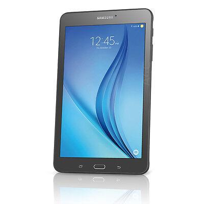 "Samsung Galaxy Tab E 8"" 16GB Android Tablet w/ Wi-Fi + 4G (AT&T) Black SM-T377A"