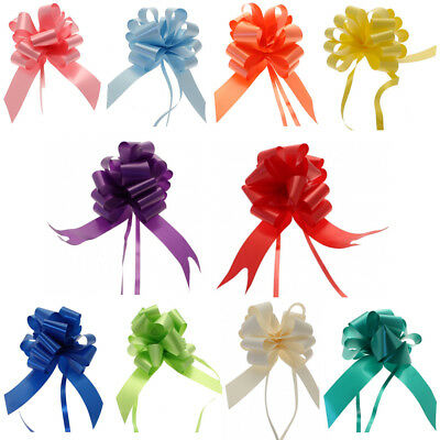 Mixed Pull Bows Medium 30mm or Large 50mm - Assorted Colours or You Choose Mix