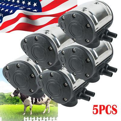 Usa Stock5 L80 Pneumatic Pulsator For Cow Milker Milking Machine Dairy Farm
