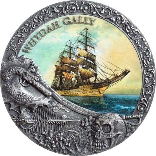 WHYDAH GALLY - Grand Shipwrecks in a History - 2020 2 oz Pure Silver Coin - NIUE