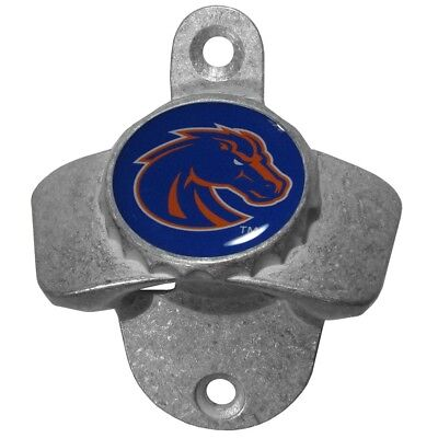 Boise State Broncos Wall Mount Metal Bottle Opener NCAA Pub Bar Kitchen College